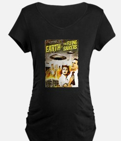 Earth vs. the Flying Saucers gru Maternity T-Shirt