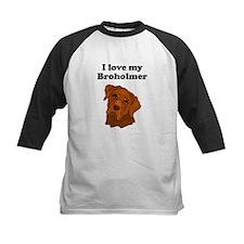 I Love My Broholmer Baseball Jersey