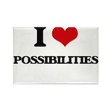 I Love Possibilities Magnets