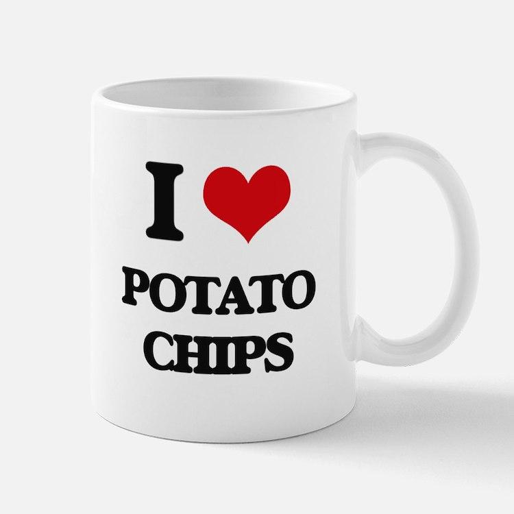 I Love Potato Chips Mugs