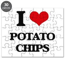 I Love Potato Chips Puzzle
