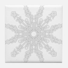 Winter Flake XI Tile Coaster