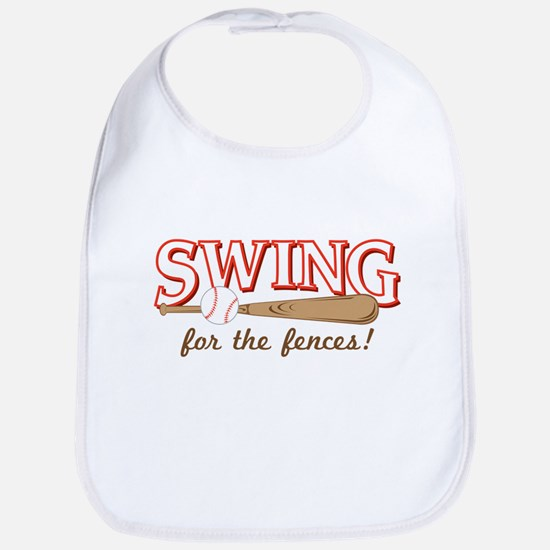 Swing Fences Bib
