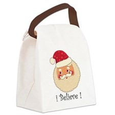 I Believe in Santa Claus  Canvas Lunch Bag