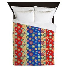Cute Cheerful Queen Duvet