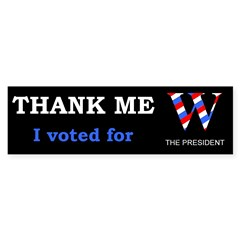 Thank me, I voted for