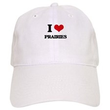 I Love Prairies Baseball Cap