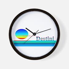 Destini Wall Clock