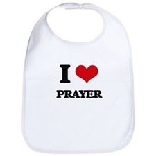I Love Prayer Bib