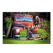 Cute Antique truck Postcards (Package of 8)