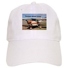 I'm just plane crazy: high wing Baseball Cap