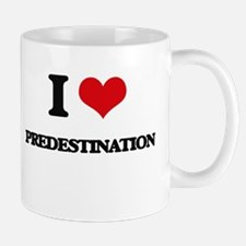 I Love Predestination Mugs