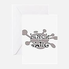 Black 'N White Greeting Cards (Pk of 10)