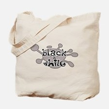 Black 'N White Tote Bag
