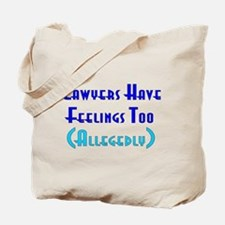 Anti-Lawyer Humor Tote Bag