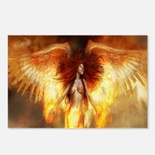 Beautiful Fire Angel Postcards (Package of 8)