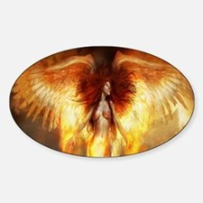Beautiful Fire Angel Stickers
