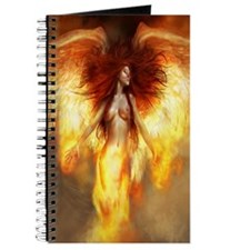 Beautiful Fire Angel Journal