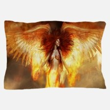 Beautiful Fire Angel Pillow Case