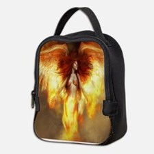 Beautiful Fire Angel Neoprene Lunch Bag