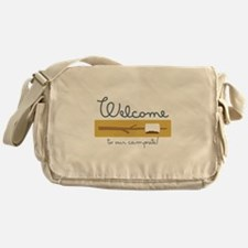 Wecome Marshamallow Messenger Bag