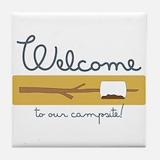 Wecome Marshamallow Tile Coaster