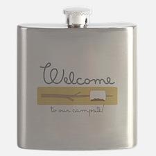 Wecome Marshamallow Flask
