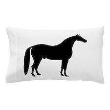 Black Stallion Pillow Case