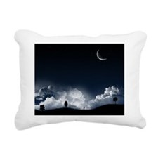 Night Sky Rectangular Canvas Pillow