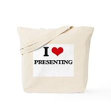 I Love Presenting Tote Bag