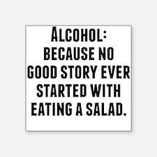 Alcohol Sticker