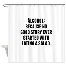 Alcohol Shower Curtain
