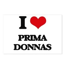 I Love Prima Donnas Postcards (Package of 8)
