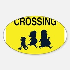 Crossing Family Sign Decal