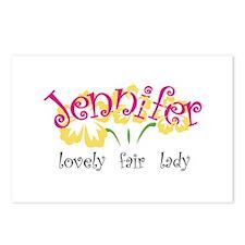 Jennifer Postcards (Package of 8)