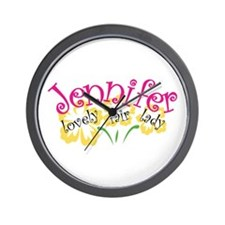 Jennifer Wall Clock