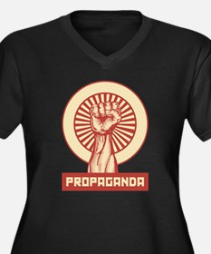 Propaganda Fist Plus Size T-Shirt