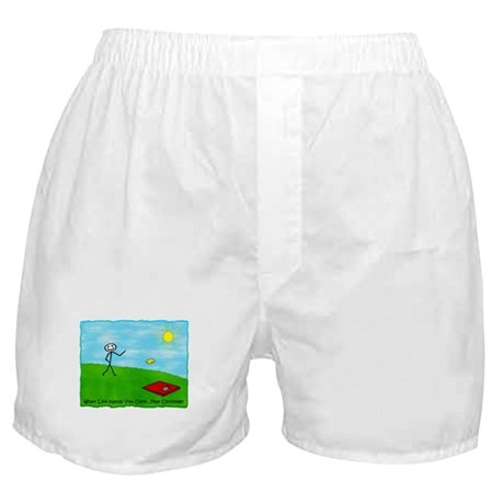 Stick Person (When Life Hands) Boxer Shorts