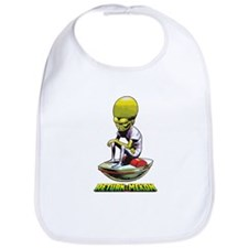 Return of the Mekon scifi vintage Bib
