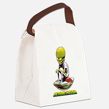 Return of the Mekon scifi vintage Canvas Lunch Bag