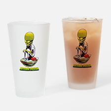 Return of the Mekon scifi vintage Drinking Glass