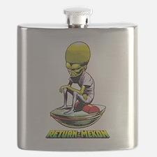 Return of the Mekon scifi vintage Flask