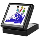 Tsunami Wave Walkers Keepsake Box