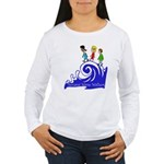 Tsunami Wave Walkers Women's Long Sleeve T-Shirt