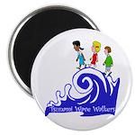 Tsunami Wave Walkers Magnet