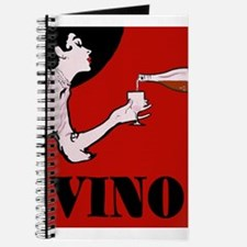 Vino Vintage Lady Journal
