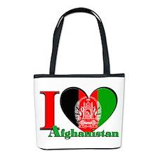 I Love Afghanistan Bucket Bag