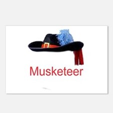 Musketeer Postcards (Package of 8)