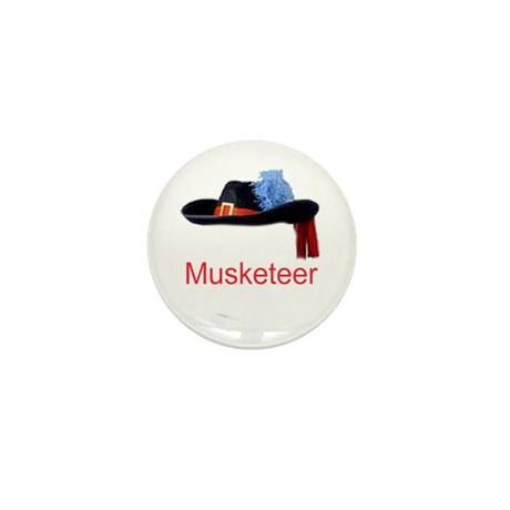 Musketeer Mini Button (100 pack)