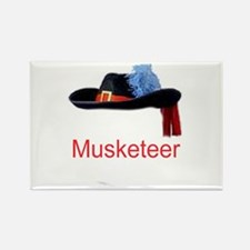 Musketeer Rectangle Magnet (10 pack)